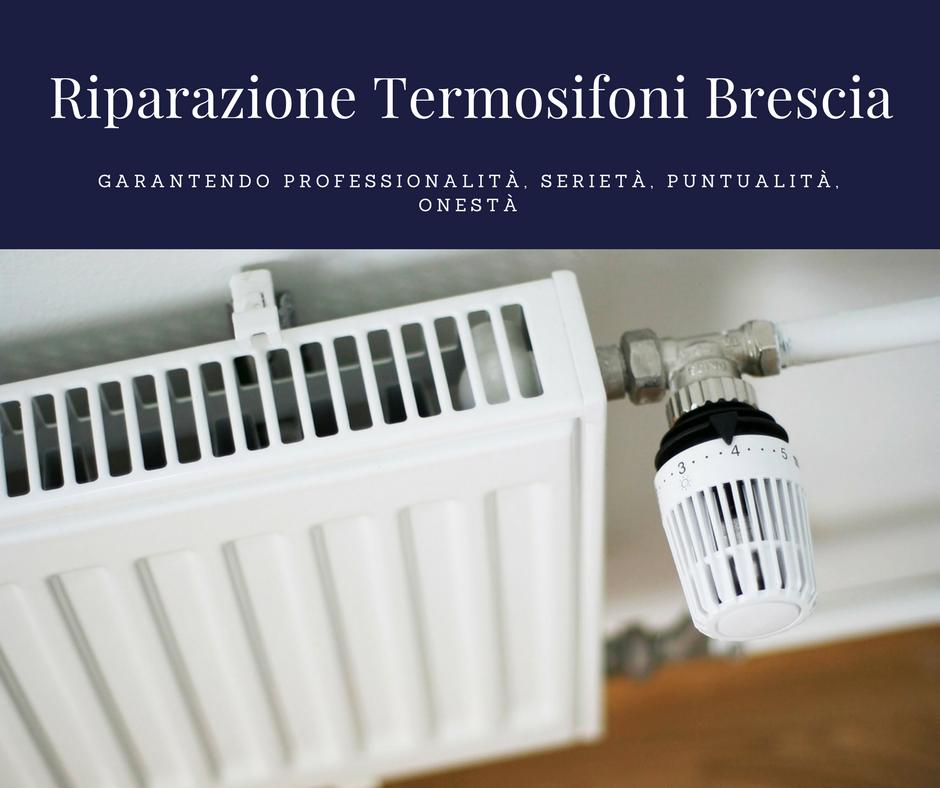 riparazione termosifoni brescia