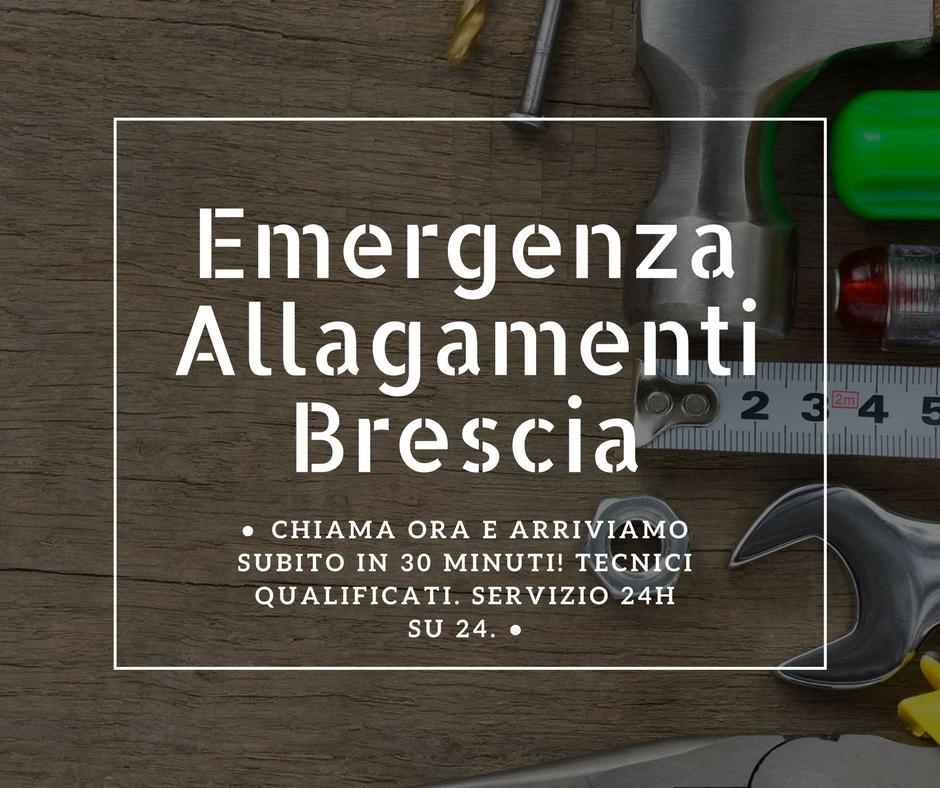 emergenza allagamenti brescia
